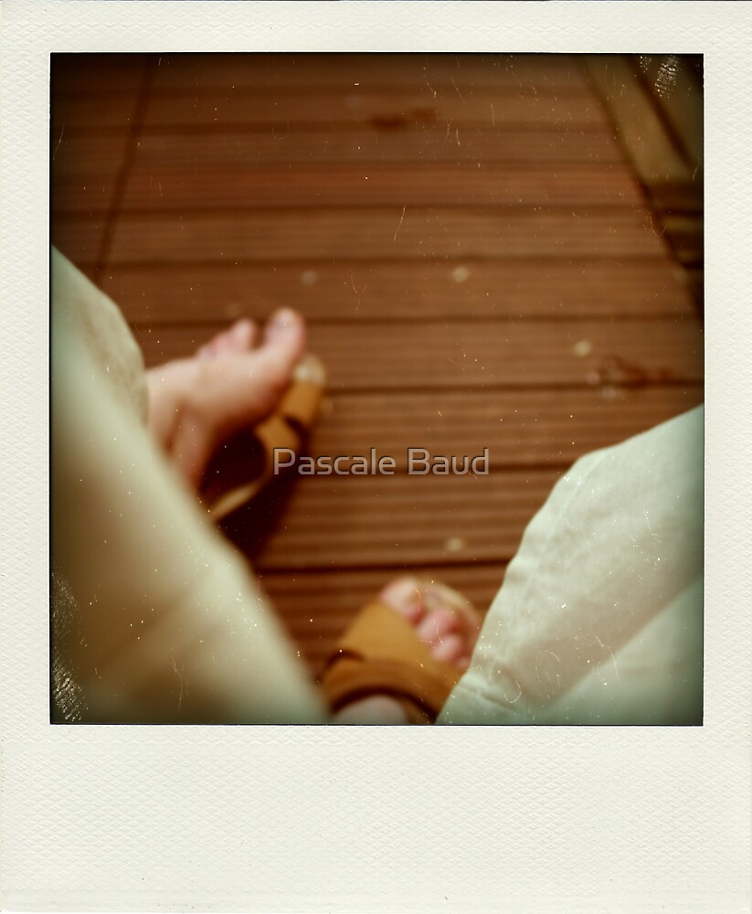 Tropical ? - Faux-Polaroid - by Pascale Baud