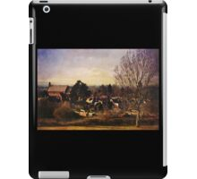 A view to St Barnabas (Worcester) iPad Case/Skin