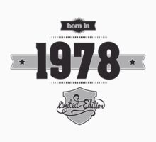 Born in 1978 Kids Clothes