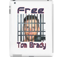 Free Tom Brady  iPad Case/Skin