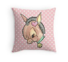 Kitsch Critter Denny the Donkey Throw Pillow