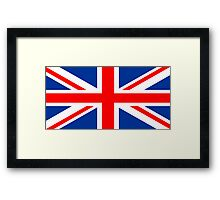 UK, national id Framed Print