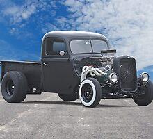 1938 Ford Pickup 'Snubnose Rat' by DaveKoontz