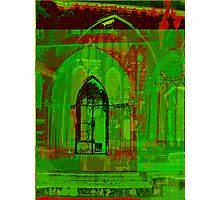 green churches Photographic Print