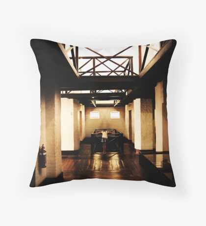 The passage of history Throw Pillow