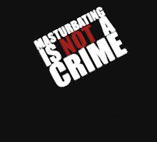 masturbating is not a crime Mens V-Neck T-Shirt