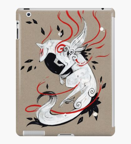 Okami Amaterasu RIBBONS iPad Case/Skin