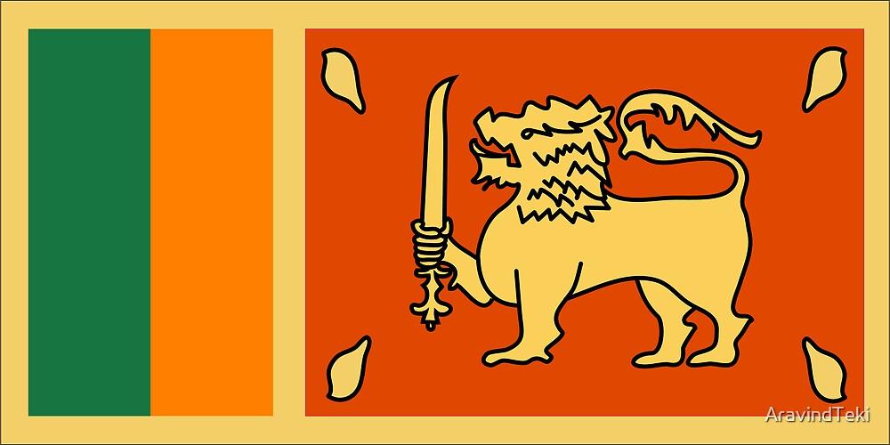 Sri Lanka, national id by AravindTeki