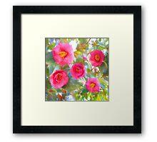 French Magnolia Framed Print