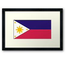 Philippines, national id Framed Print