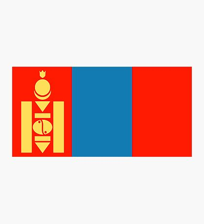 Mongolia, national id Photographic Print