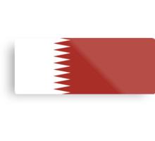 Qatar, national id Metal Print