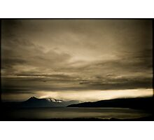 earth, sea and clouds... Photographic Print