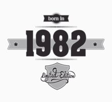 Born in 1982 Kids Clothes