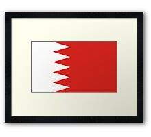 Bahrain, national id Framed Print