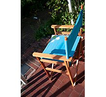 Sunshine Chair Photographic Print