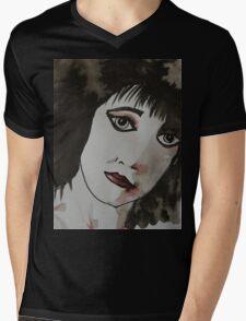 Punk girl Mens V-Neck T-Shirt