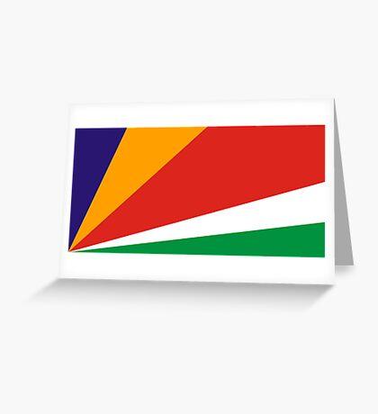 Seychelles, national id Greeting Card
