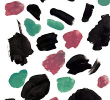 abstract brush strokes by doma