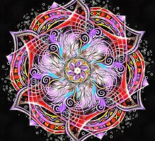Strange Runes Mandala by relplus