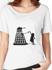 Dalek Stasis Theory Women's Relaxed Fit T-Shirt