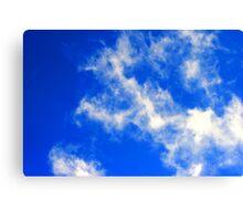 Clear Blue Sky. Canvas Print