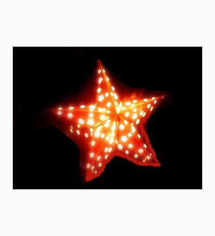 Shining Star Photographic Print
