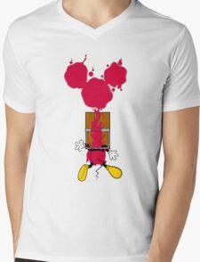 Mouse trap Mens V-Neck T-Shirt