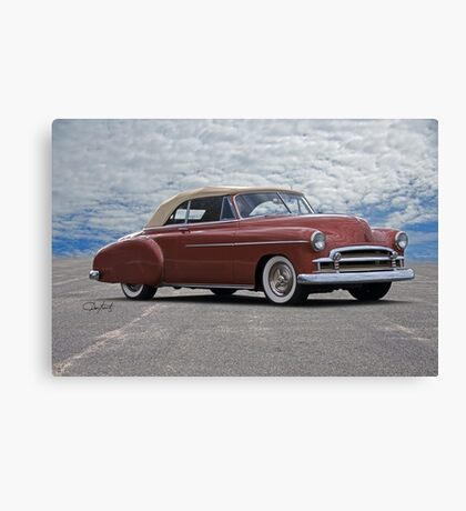 1950 Chevrolet Custom Convertible Canvas Print