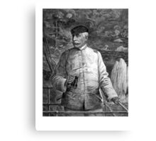 Admiral Dewey At Sea Canvas Print
