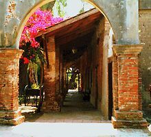 Mission San Juan Capistrano California 1 by Dana Roper