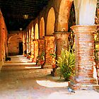 Mission San Juan Capistrano California 2 by Dana Roper