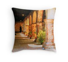 Mission San Juan Capistrano California 2 Throw Pillow
