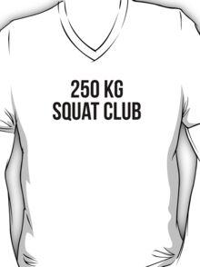 250 KG SQUAT CLUB T-Shirt