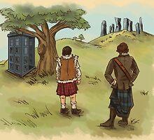 The 2 Jamies- Outlander/DrWho by Kricki