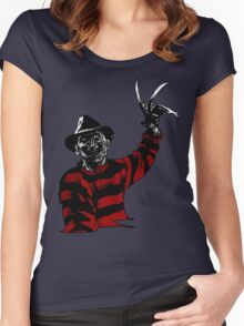 Here's Freddy Women's Fitted Scoop T-Shirt