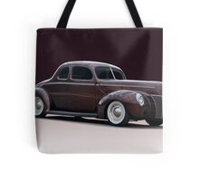 1940 Ford 'Fifties Style' Coupe Tote Bag
