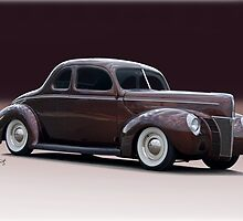 1940 Ford 'Fifties Style' Coupe by DaveKoontz