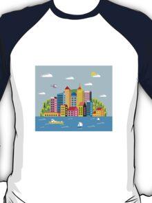 City illustration T-Shirt