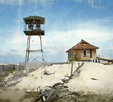 Old Coast Guard Station–Outer Banks, North Carolina by depictionsbyJB