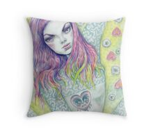 Another Bloody Mary Throw Pillow