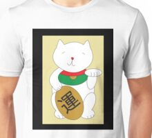 Maneki Neko Luck and Good Fortune  Unisex T-Shirt