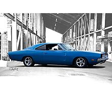 1969 Dodge Charger RT 'American Muscle' Photographic Print