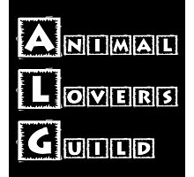 animal lovers guild Photographic Print