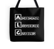 animal lovers guild Tote Bag