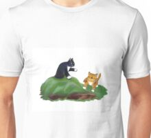 Kittens Playing King-of-the-Hill Unisex T-Shirt