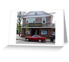 Back to the '60s - 1966 Volvo P1800S Greeting Card