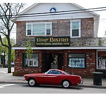 Back to the '60s - 1966 Volvo P1800S Photographic Print