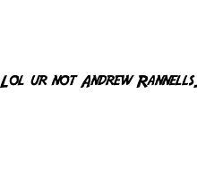 lol ur not Andrew Rannells by ItsMeGabriela