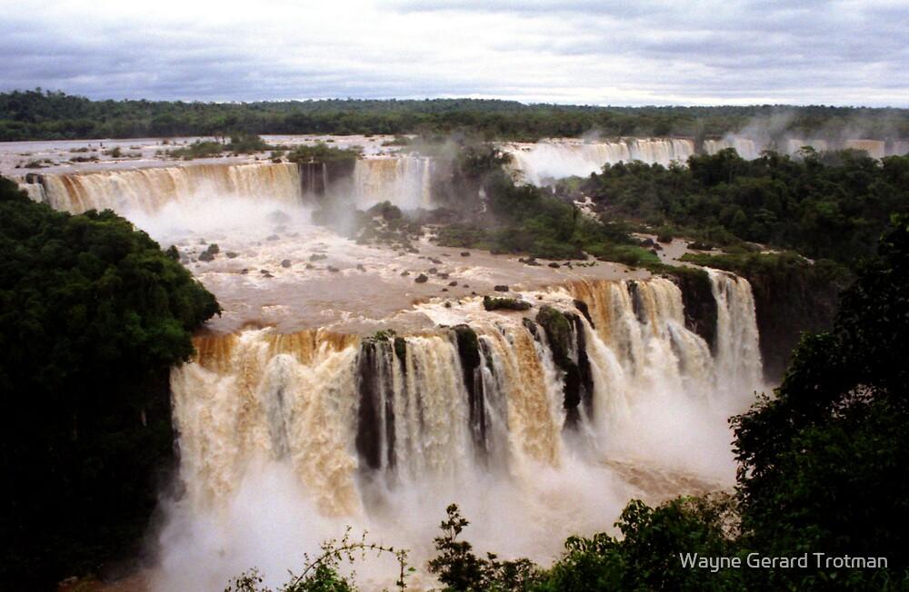 Iguazu Falls by Wayne Gerard Trotman